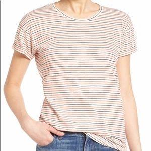 NWOT Madewell striped basic trendy T-shirt